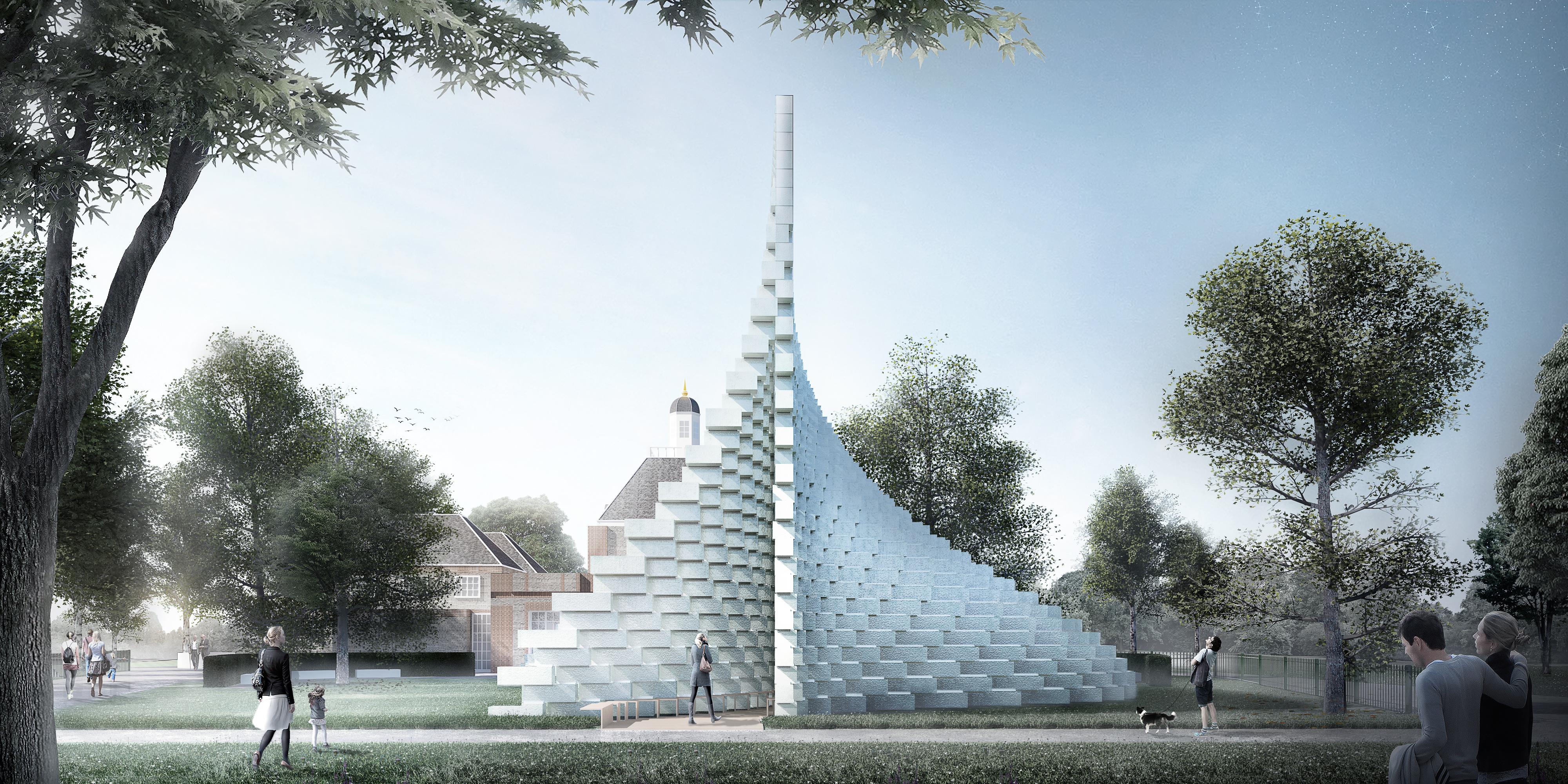 serpentine pavilion BIG