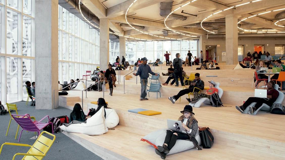 ryerson study center architecture blog LEED